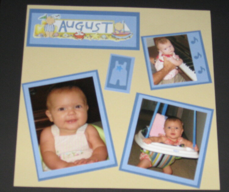 August 07, 4 months old