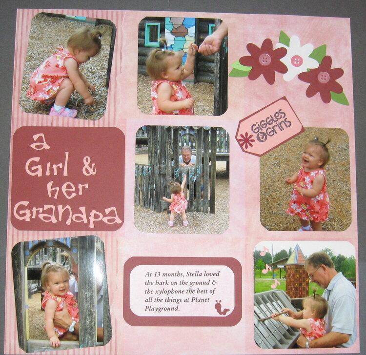A Girl & Her Grandpa