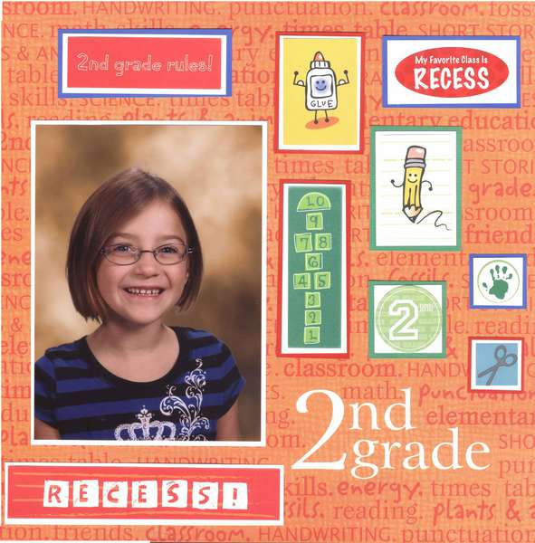 Emily 2nd grade page 1