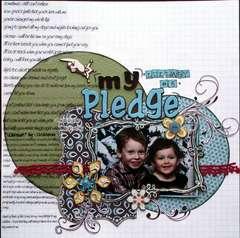 my pledge