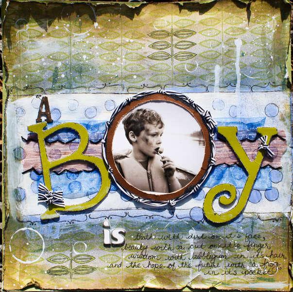 A Boy is