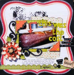 this was the cost *october scrapmuse*