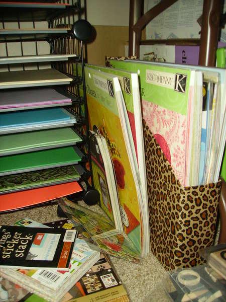 USPS 12x12 paper storage