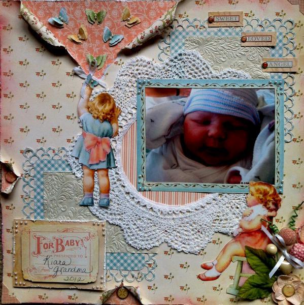 Grandma's Sweet Angel Baby
