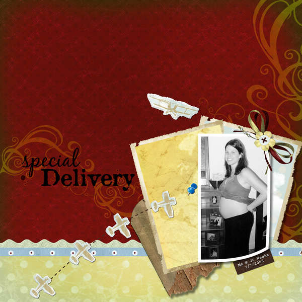 Special Delivery - 20 Weeks Pregnant