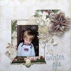 winter pjs