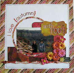 I love autumn with you!