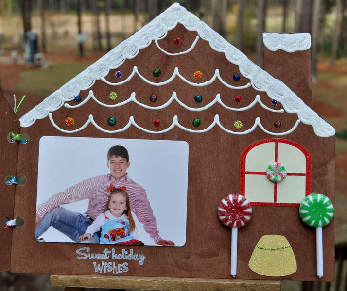 Gingerbread House Christmas Card