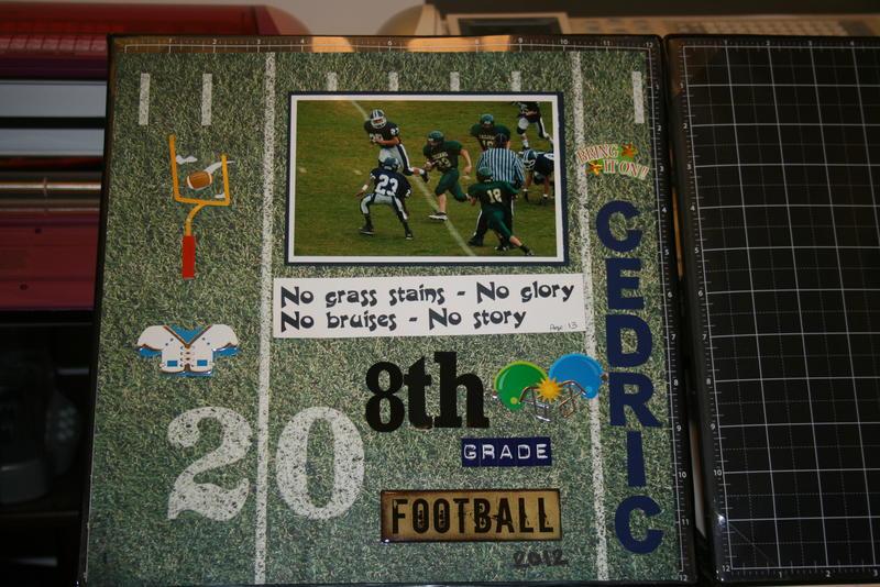 8th grade FB 2012