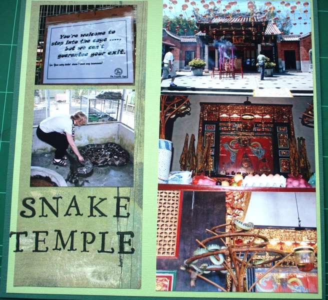 Snake Temple left side