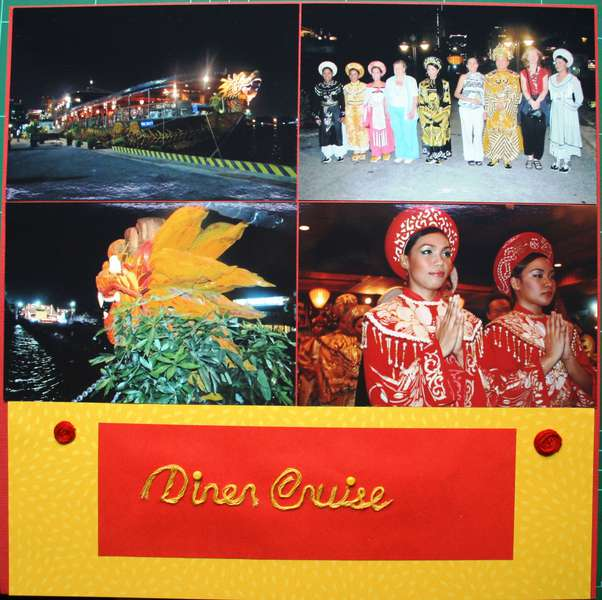 Diner Cruise on Saigon River 1