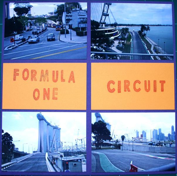 F1 circuit Singapore