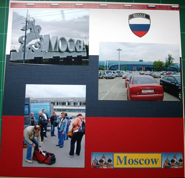 Arrival in Moscow