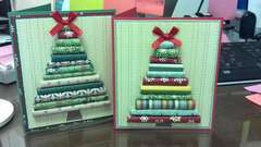 Rolled Christmas Tree Card