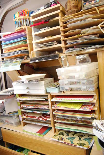 Messy, Messy Paper Holders