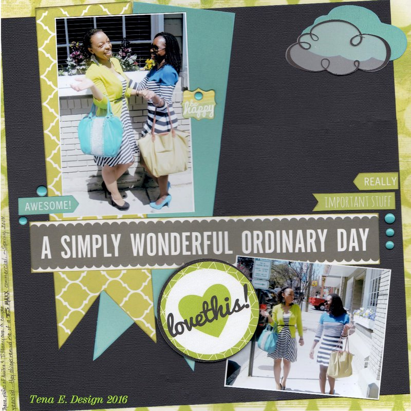A Simple Wonderful Ordinary Day