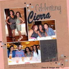 Celebrating Cierra