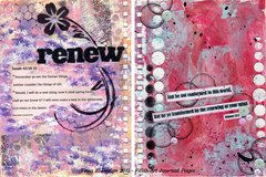 Art Journal Faith Pages 1