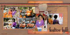 Festive fall day