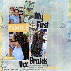 My first Box Braids