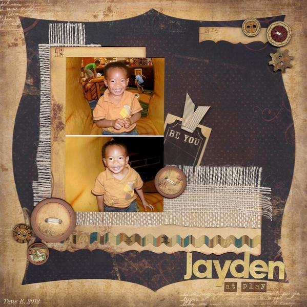 Jayden at play