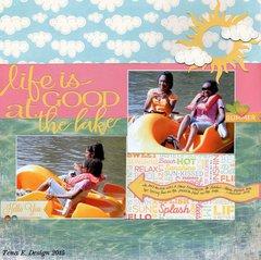 Life is good at the lake