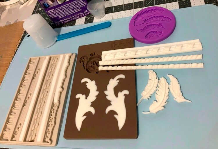 Moulds and Amazing Casting Resin