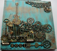 Music like food for the soul - MM Canvas