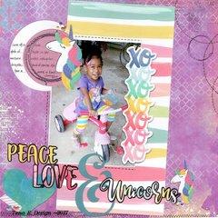 Peace Love & Unicorns