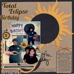 Total Eclipse Birthday