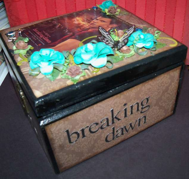 Altered Cigar box~ Breaking Dawn~ Jacob