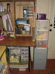 UPDATED Scrap & Work Desk