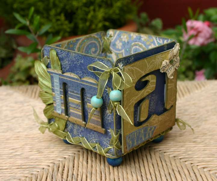 Altered Beer Mat Box