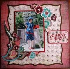 CIRCA 1920 ART DECO DRESS