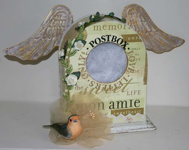 Shabby love letters box