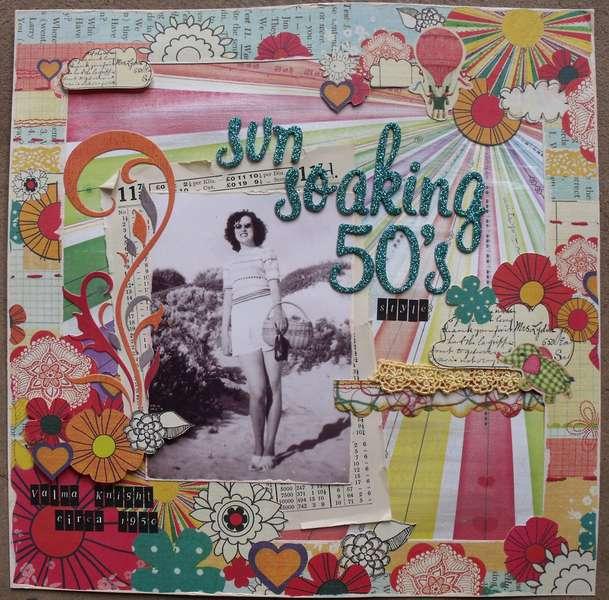 Sun Soaking 50's Style