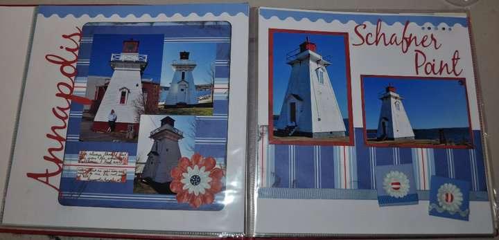Annapolis Royal & Schafner Point Lighthouses