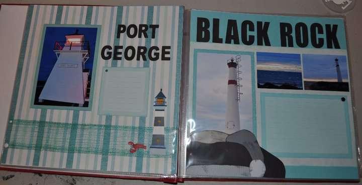 Port George & Black Rock Lighthouses