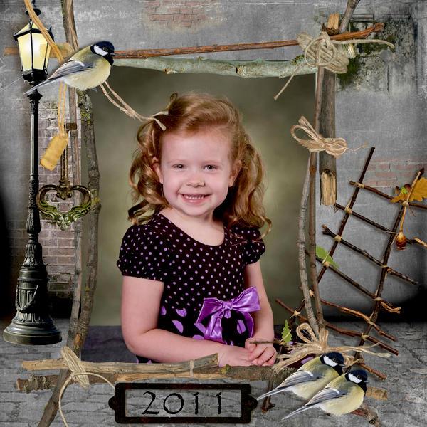 Arwen Preschool Picture Day