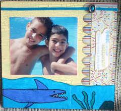 Swimming pool sharks
