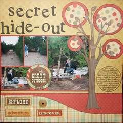 secret hide-out