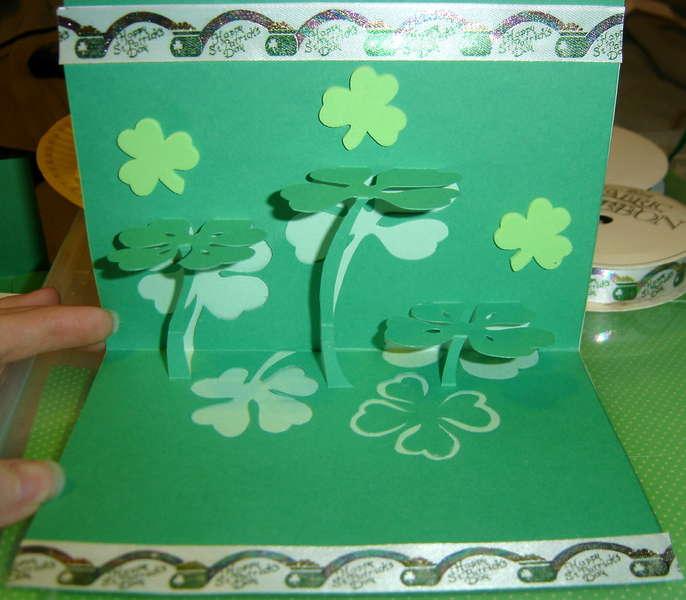 St. Patrick's Day Card - Inside
