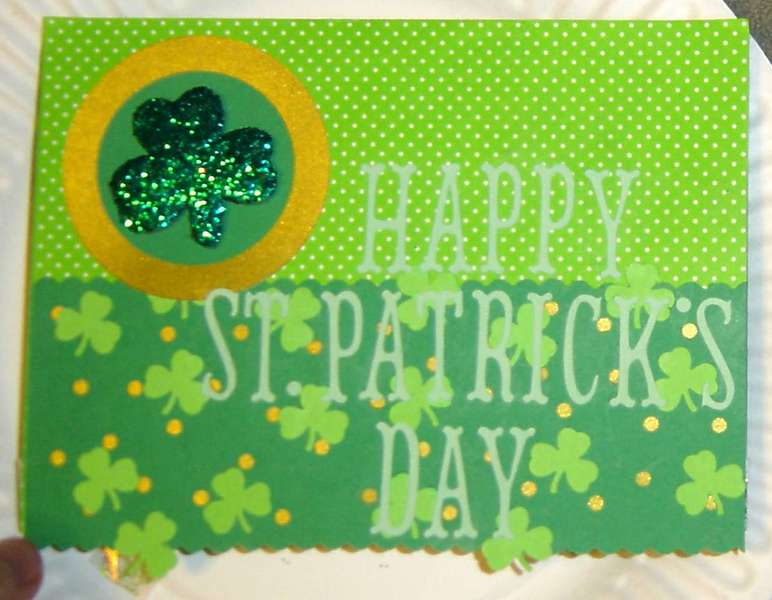 St. Patrick's Day Card - Outside