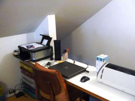 My Computer, Printer and Cricut Area