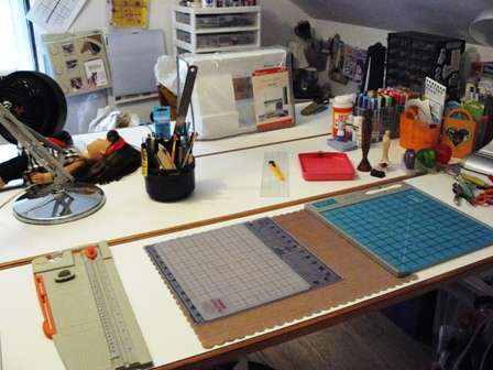Scrapbooking and Cardmaking Area