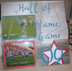 Hall of Fame Football Game 2009