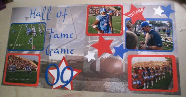 Hall of Fame Game 2009