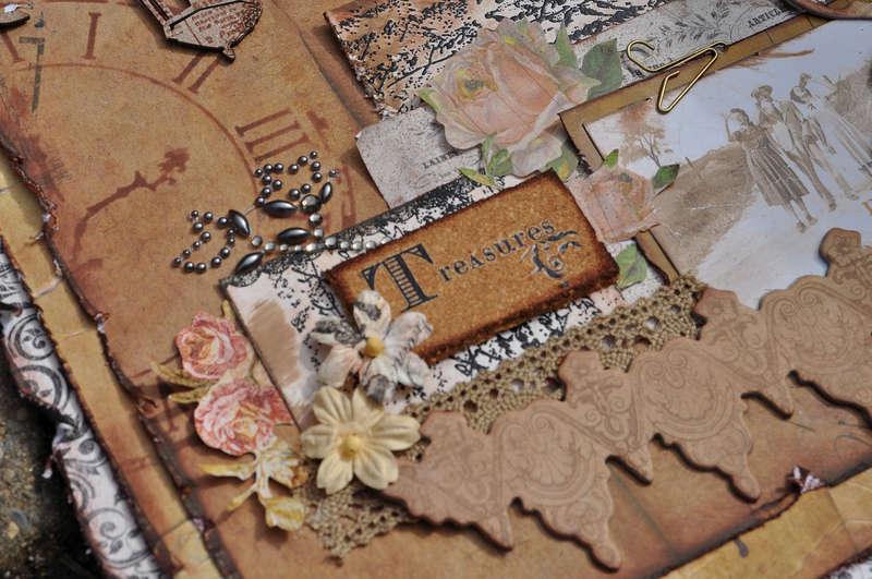 """""""Little Treasures Detail"""" Scraps of Darkness"""