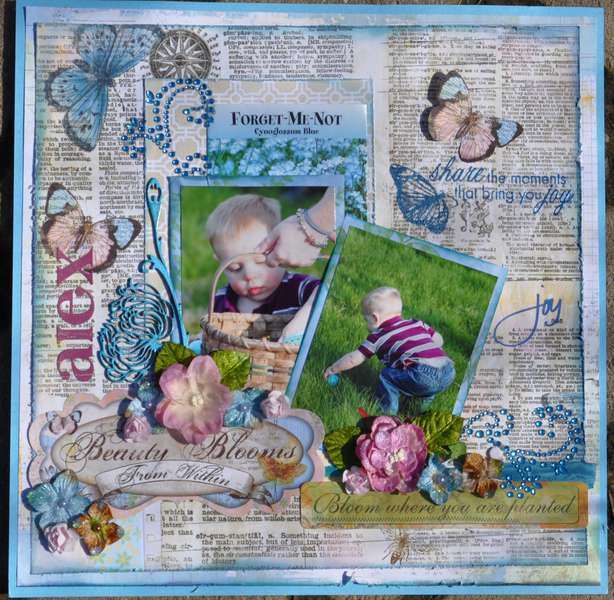 """Share the Moments that Bring You Joy """"Scraps of Elegance"""""""