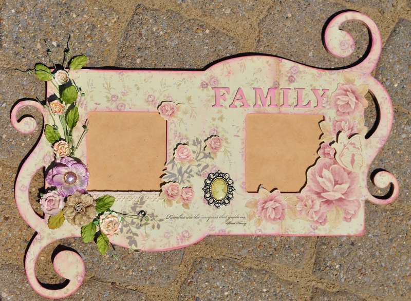 """Country Charm Frame **Scraps of Elegance"""""""